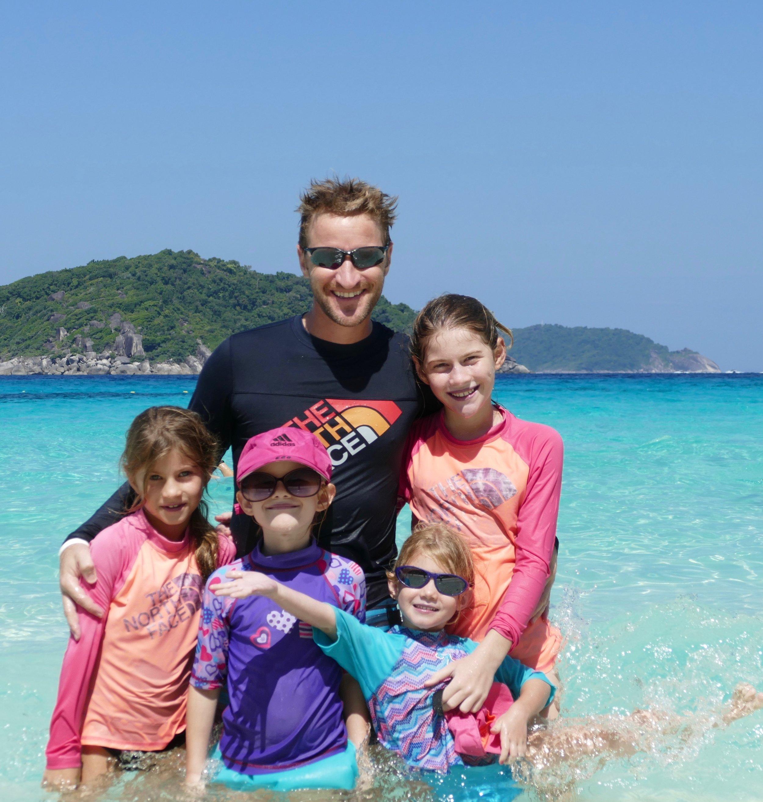 Les îles Similans en Thailande