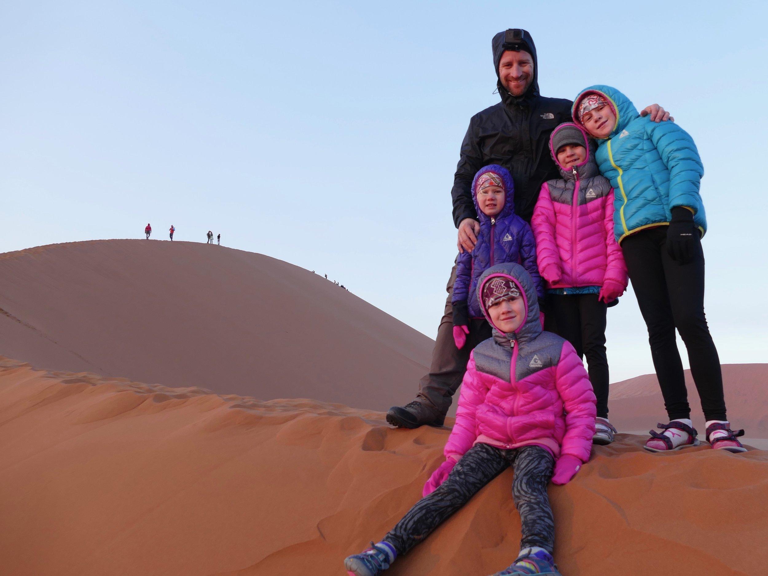 La dune 45 de Sossusvley en Namibie