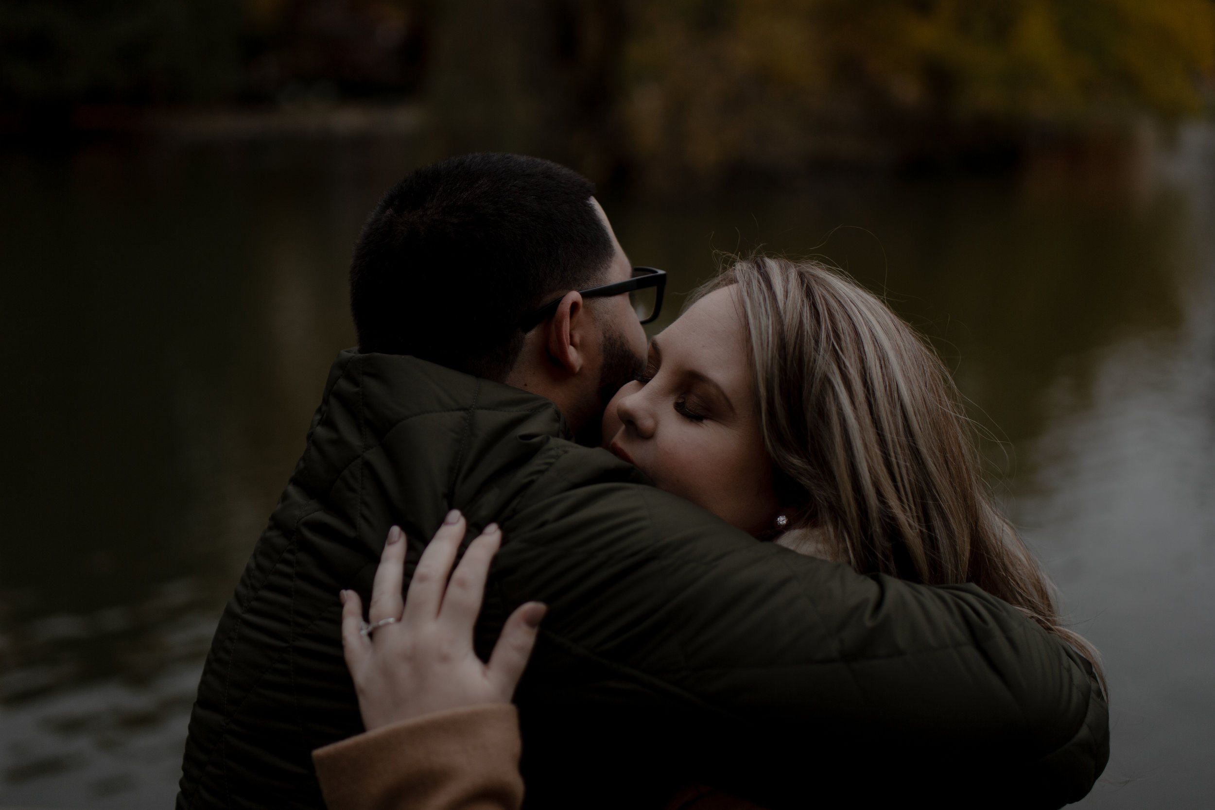 Lauren & Kayvon - German Village Engagement