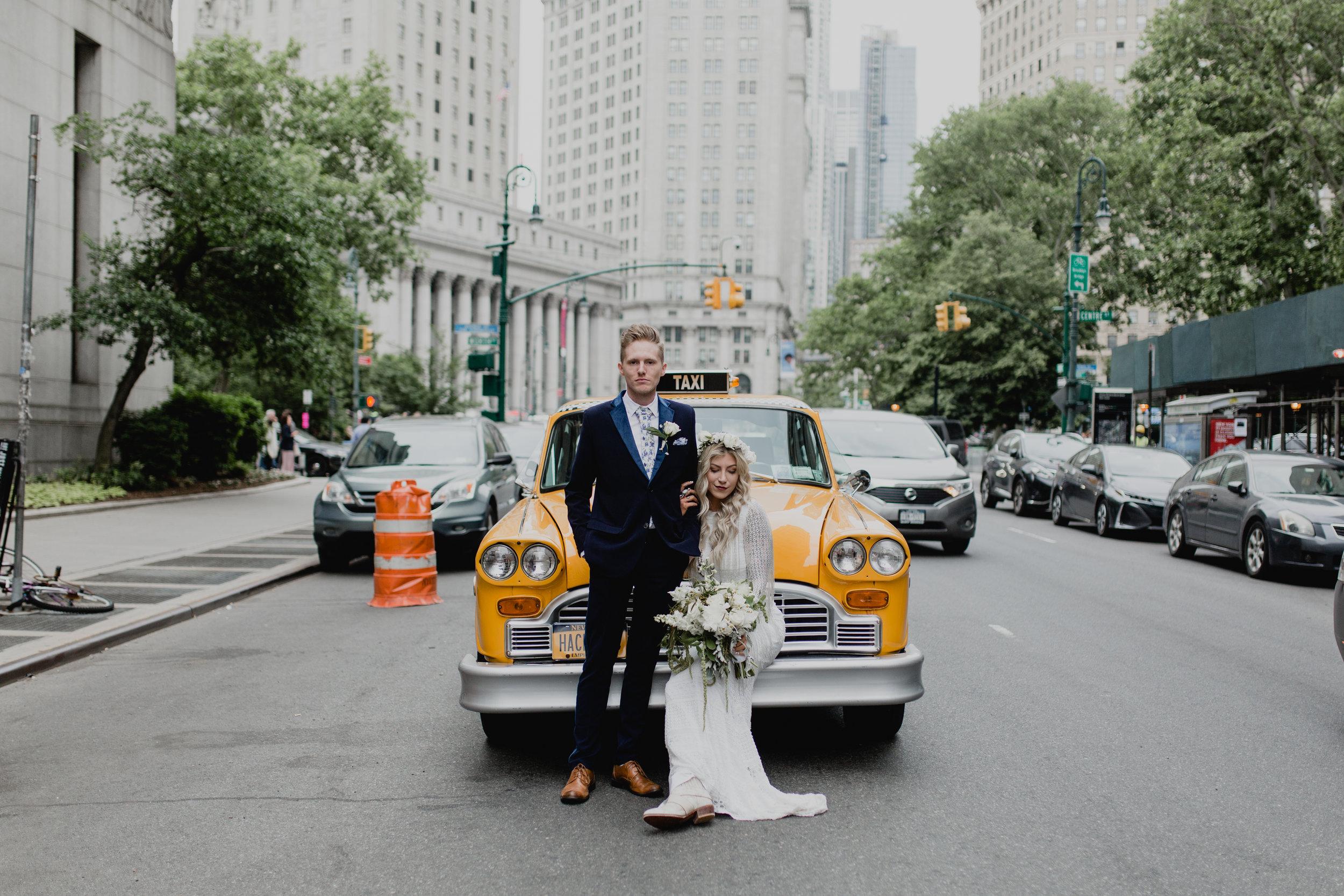 Brennan & Kayla - New York City Elopement