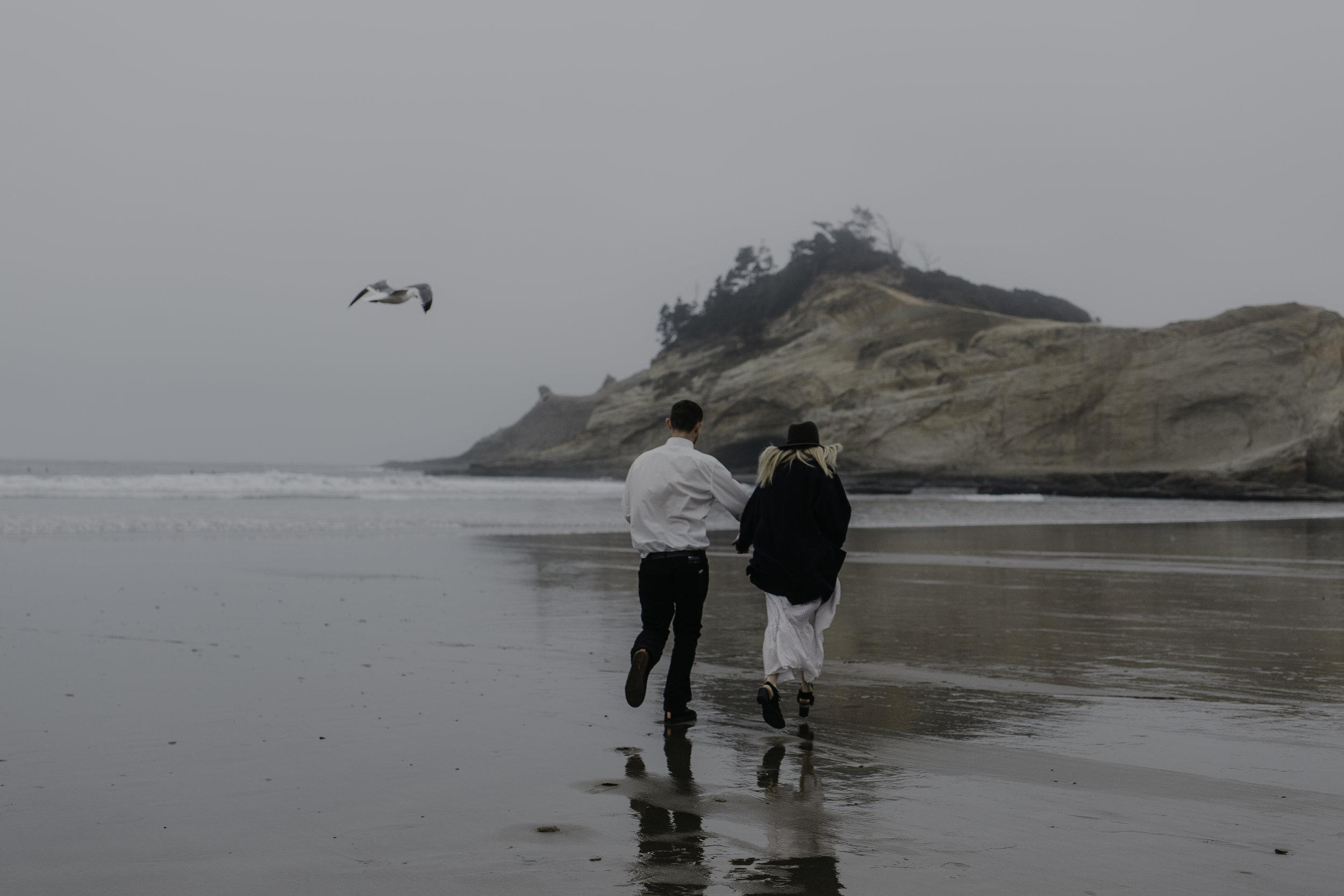 David & Becky - Cape Kiwanda Beach, Oregon