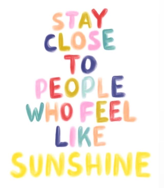 Tag someone ⬇️ in your life who feels like the human form of ☀️