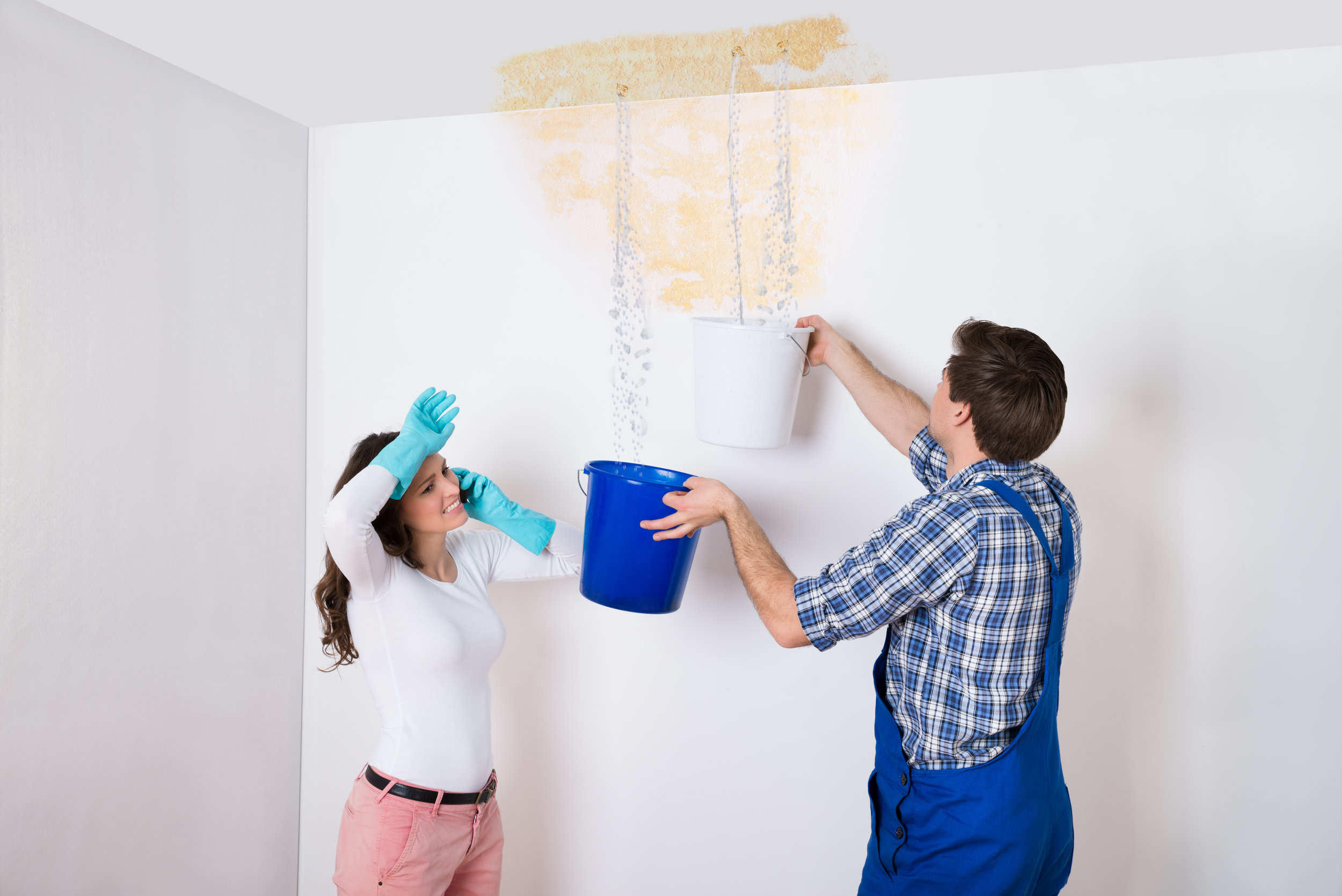 Don't take on a water damage job alone! Make the right call.