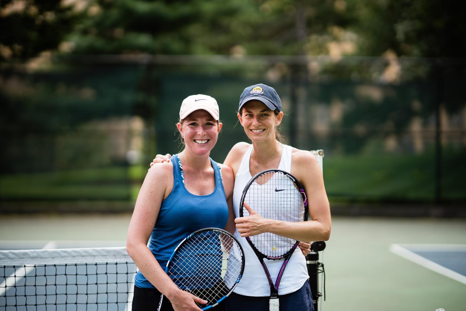 Women's singles finalists. Photo credit Duy Tran