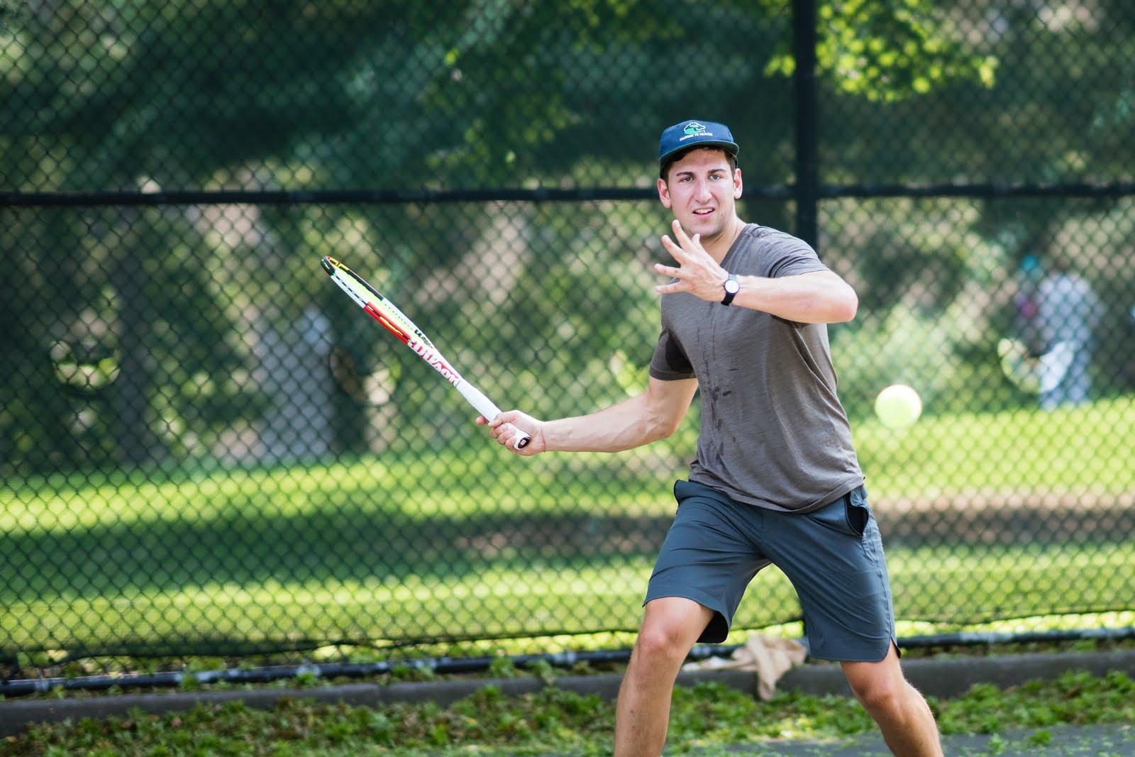 Men's singles player. Photo credit: Duy Tran