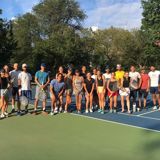 Another great weekend of tennis in the books! Congrats to all of the winners and finalists of the Doubles Tournament. Open Draw: Mintz/Lawrence def. Burns/Russell. Mixed Draw: Louks/Toure def. Genkina/Koehler. Women's Draw: Genkina/Wong def Babunski/Girizd. A huge thanks to our sponsors @tenniswarehouse @fortpilates and Cafe Paulette!