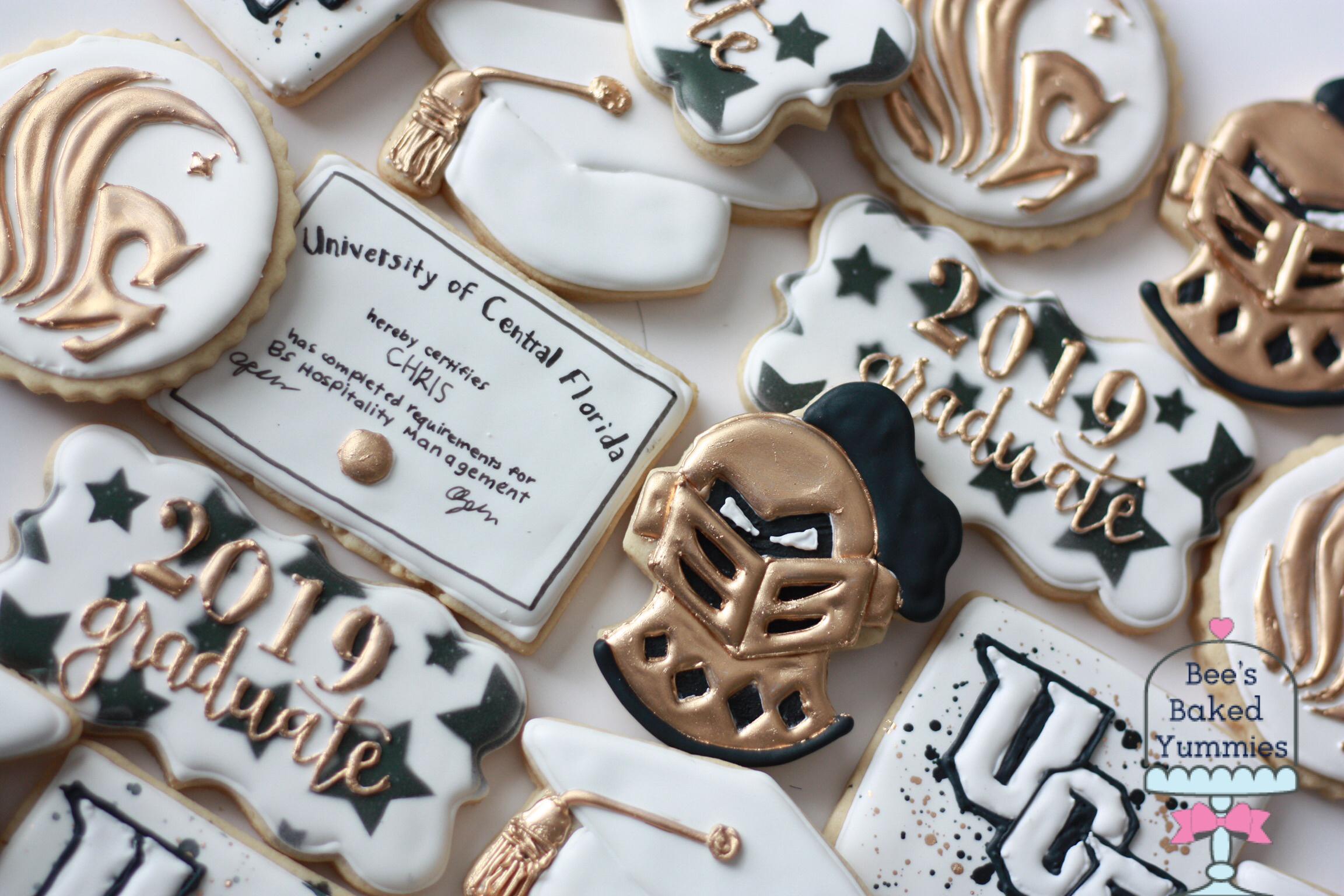 Copy of UCF Graduation Cookies