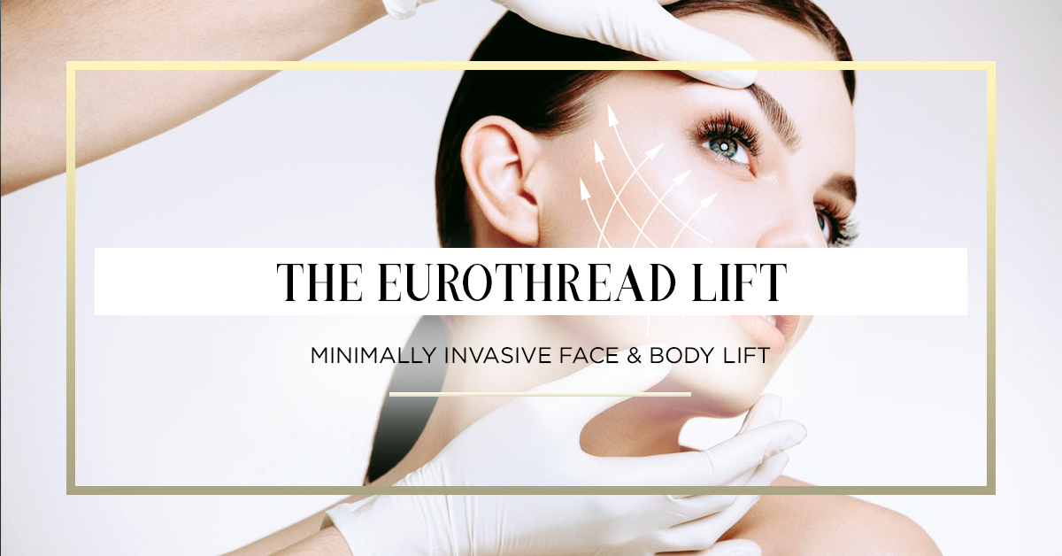 Eurothreads - EuroThreads are inserted subcutaneously showing instant results commonly associated with lifting, tightening, volumizing and contouring. EuroThreads counteracts loss of elastin while simultaneously stimulating the body's natural production of collagen where treatment has occurred.