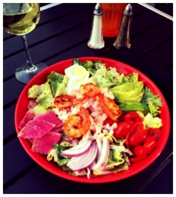 Eddie Papa's salad