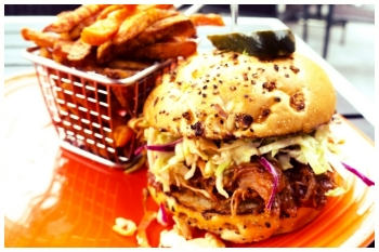 Eddie Papa's burger