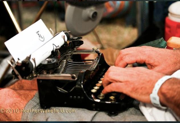 Typing Summer Festivals, High Sierra Music Festival, Quincey CA, 2010