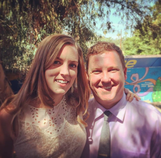 Nick Warnes, Director of Cyclical LA, and his wife, Whitney