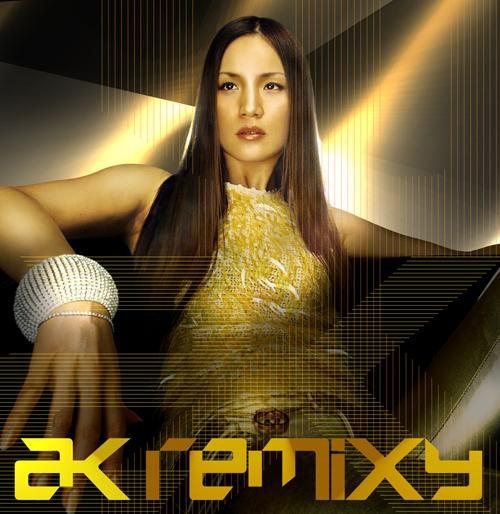 """AK Akemi Kakihara (柿原朱美) - Album """"AK REMIXY"""""""