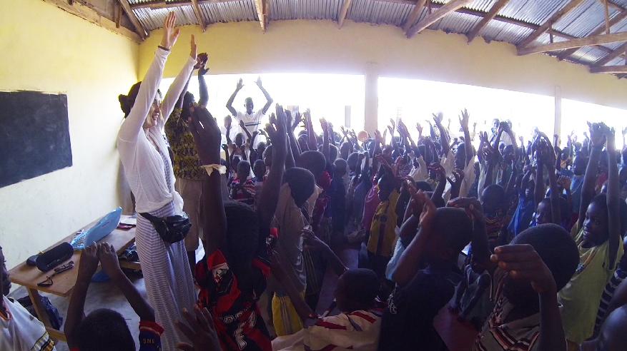 AK Akemi Kakihara & Bognayili Children, Ghana, Africa