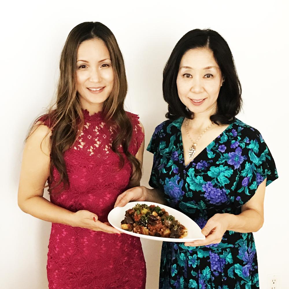 AK Akemi Kakihara & Beauty Chef Yoshiko Sugimoto
