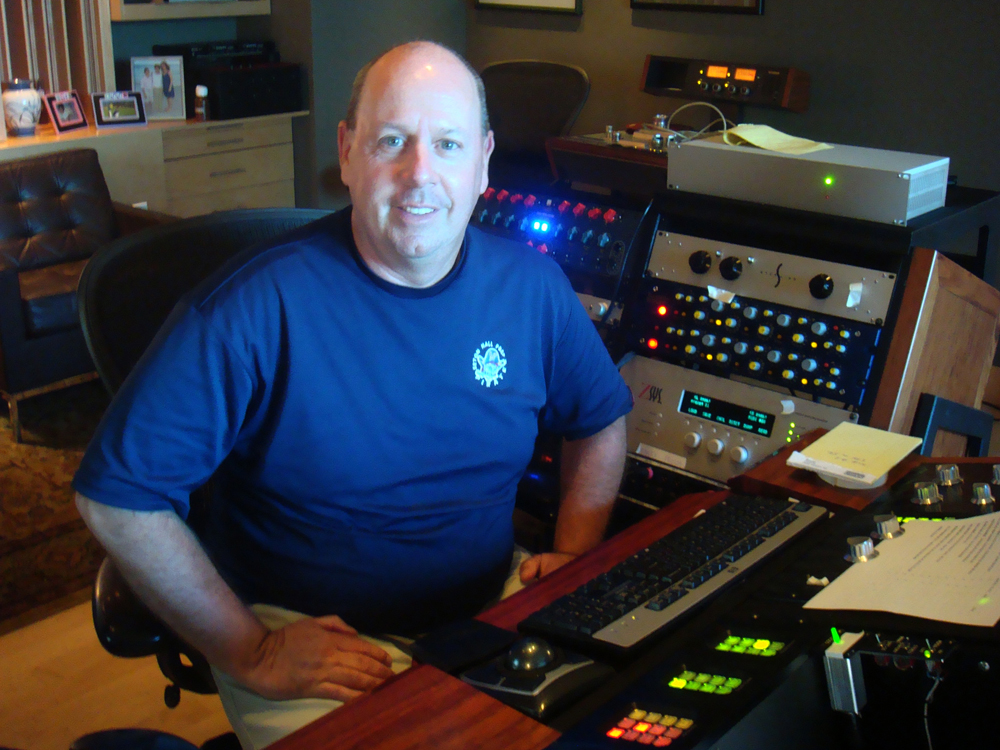 My dearest friend, legendary Grammy-winning mastering engineer, Tom Coyne