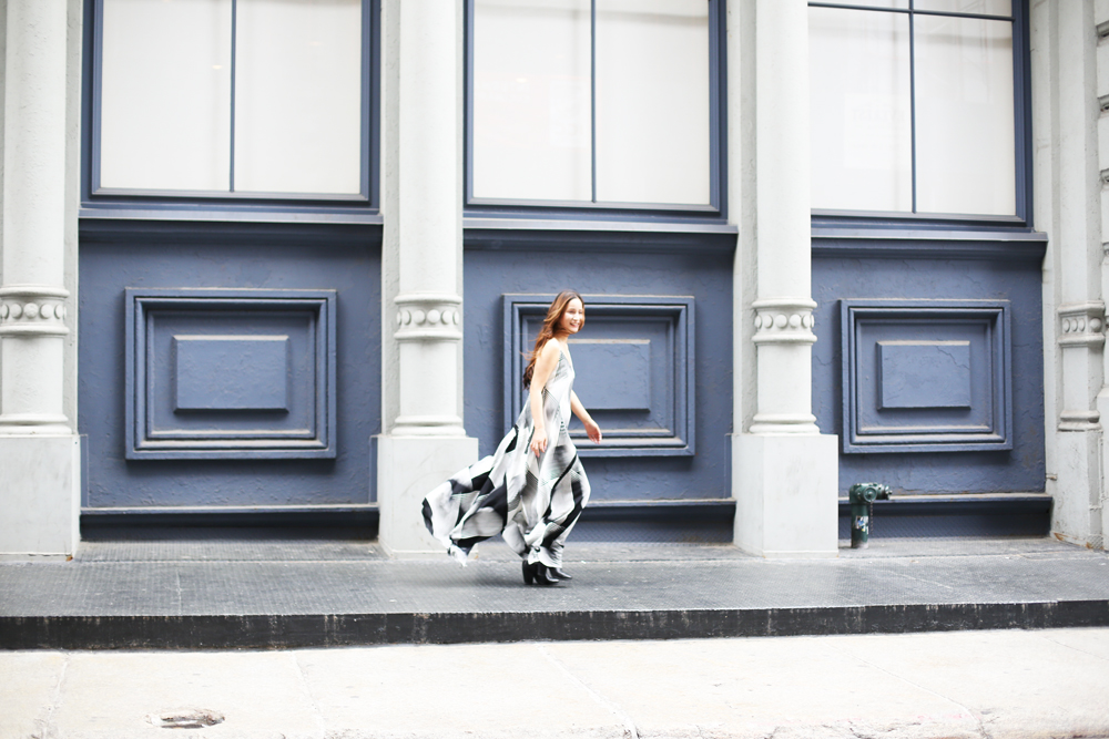 AK Akemi Kakihara @ Soho, NY Photo by Romi Uchikawa