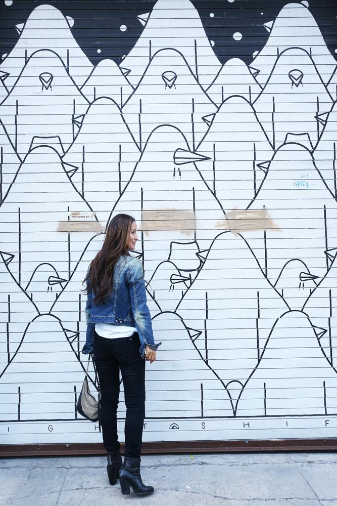 AK Akemi Kakihara @ Williamsburg, Brooklyn Photo by Romi Uchikawa