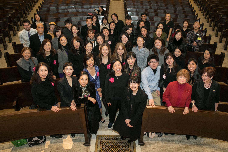 主催Felllowship for Japanのメンバーと、ボランティア