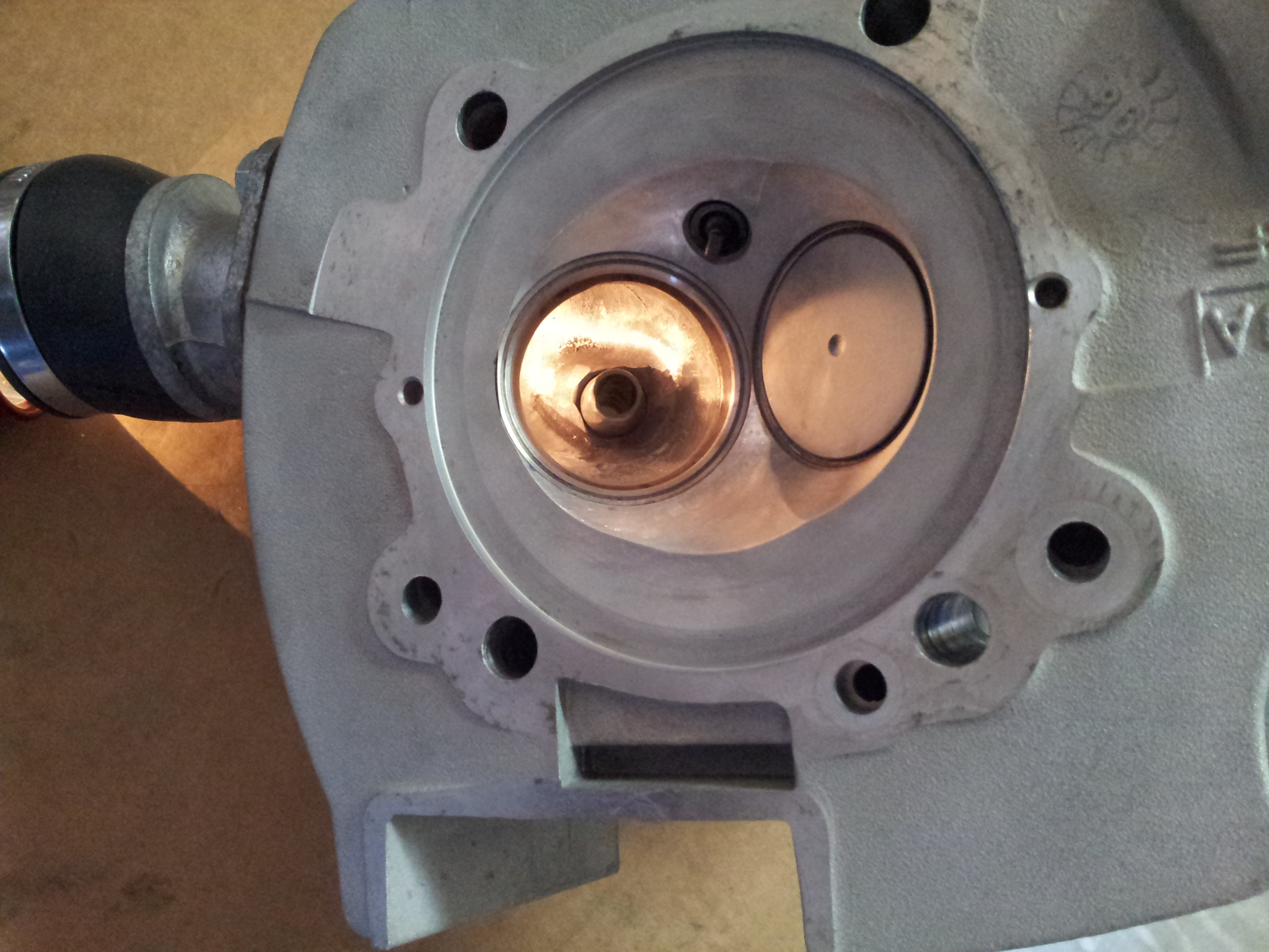 Ducati 900SS Ported Cylinder head