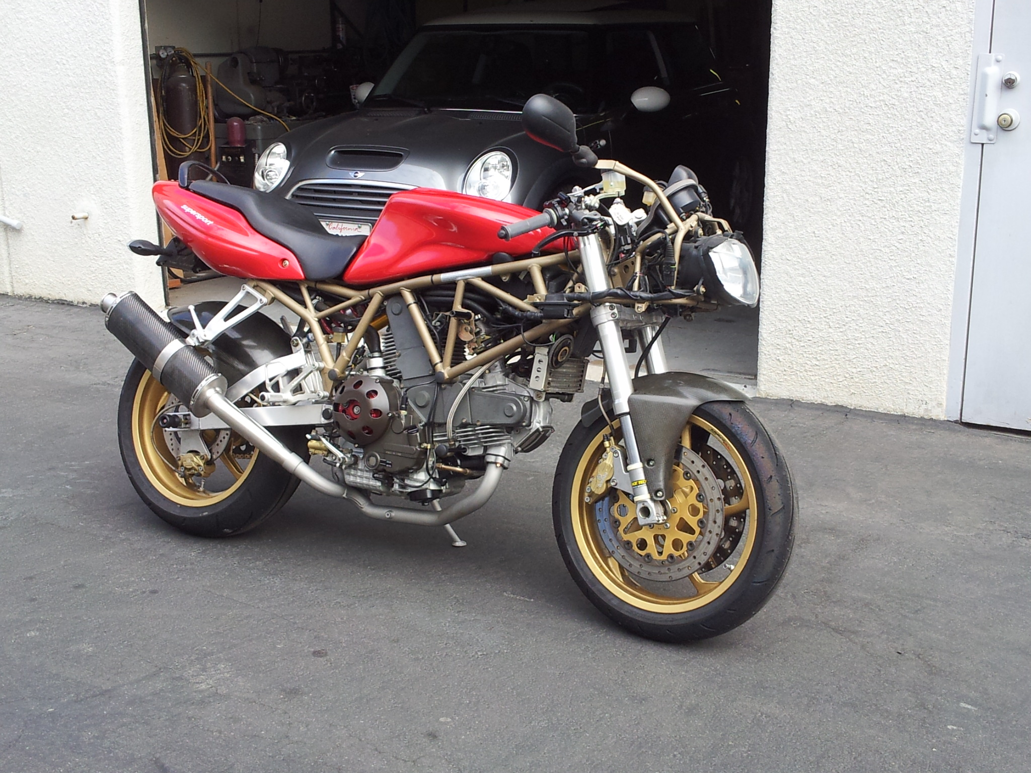 Ready for a Test Drive Ducati 900SS