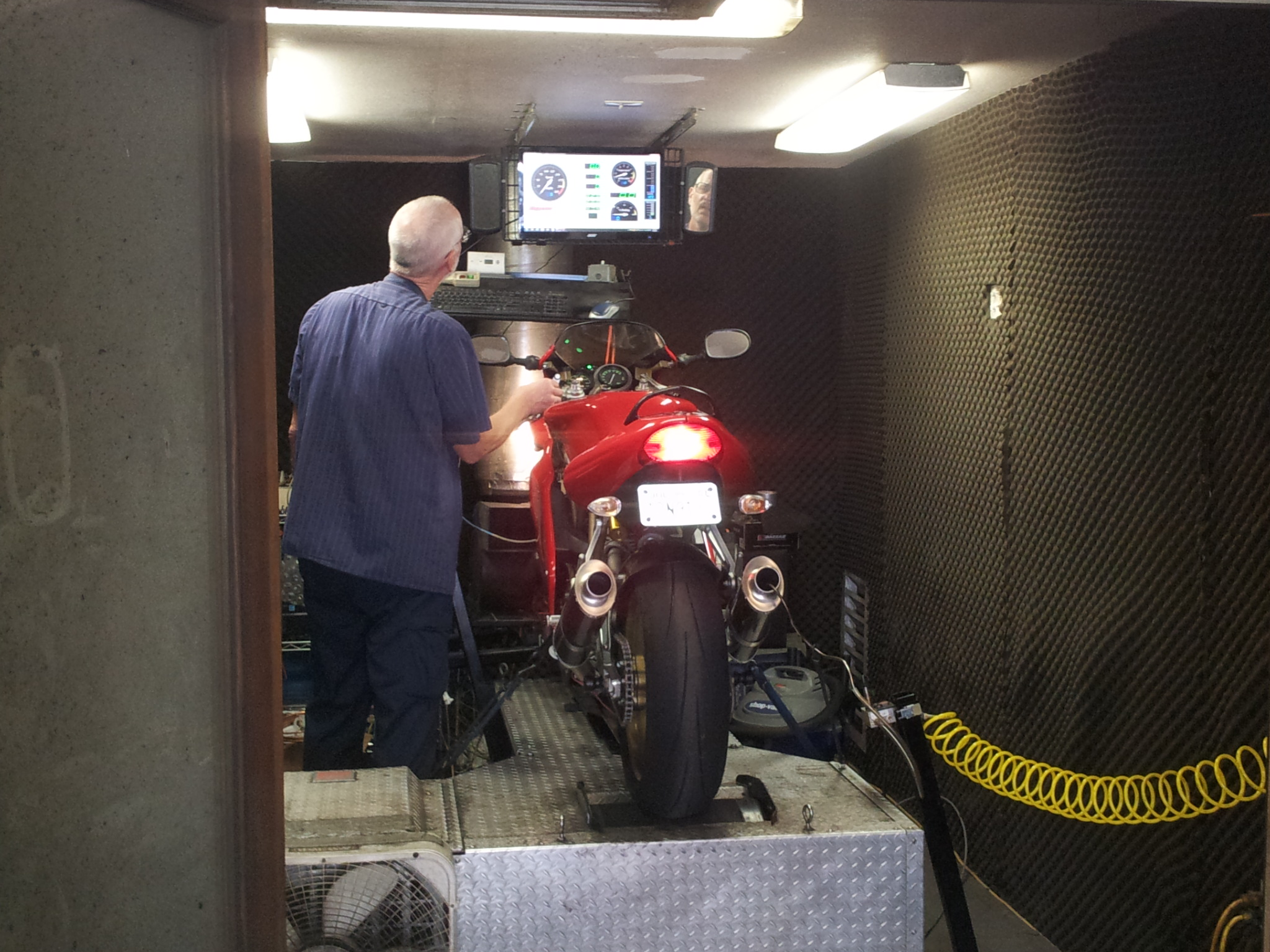 Dyno Test for Ducati 900SS