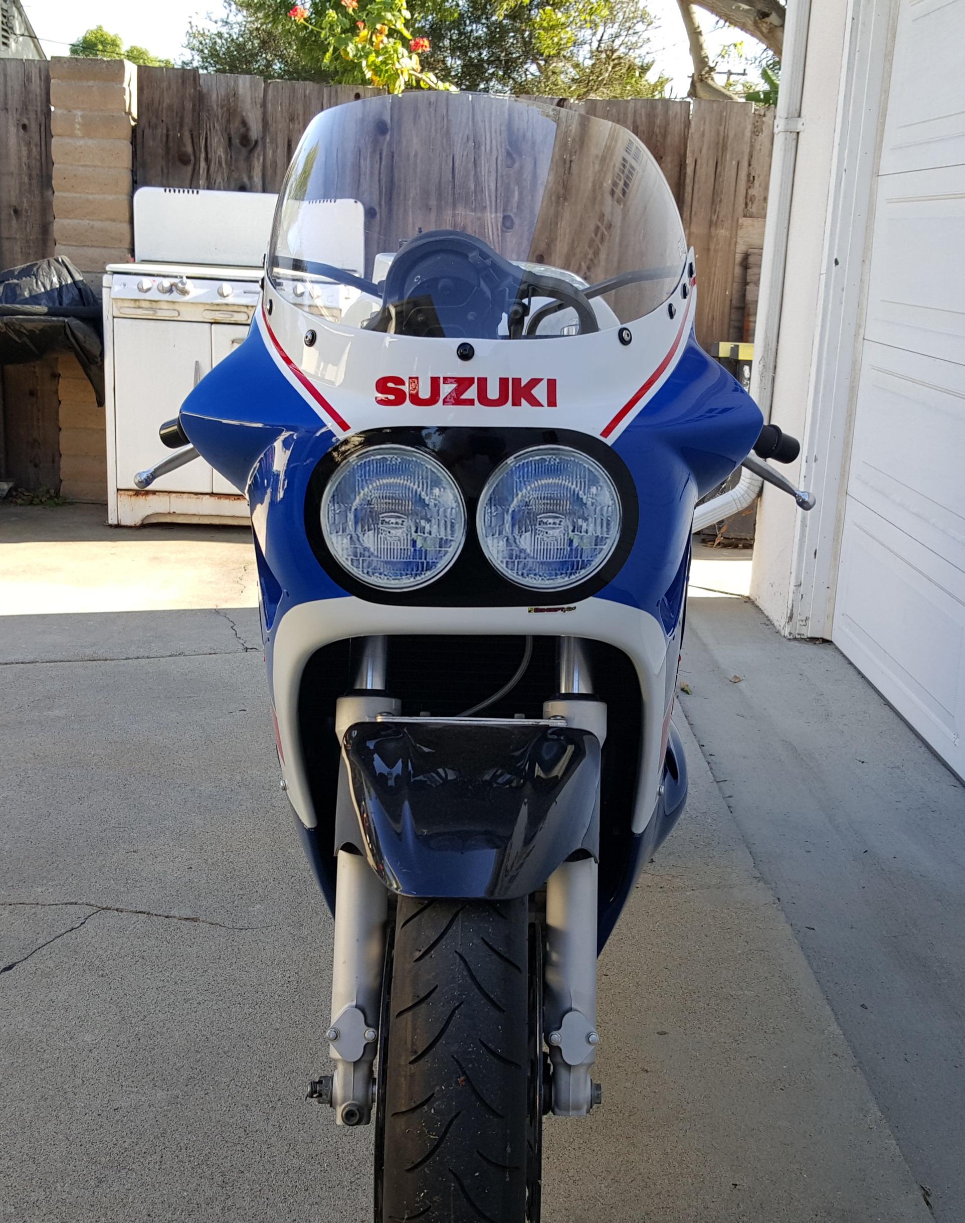 Suzuki Headlight Decal