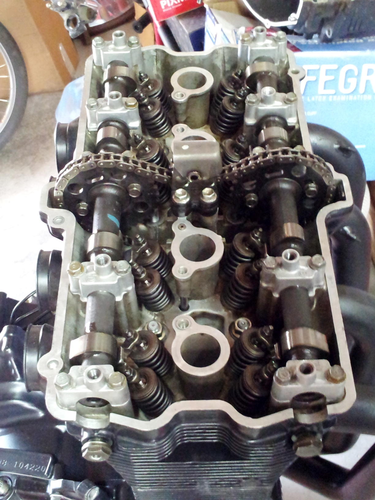 Cylinder Head without the Valve Cover