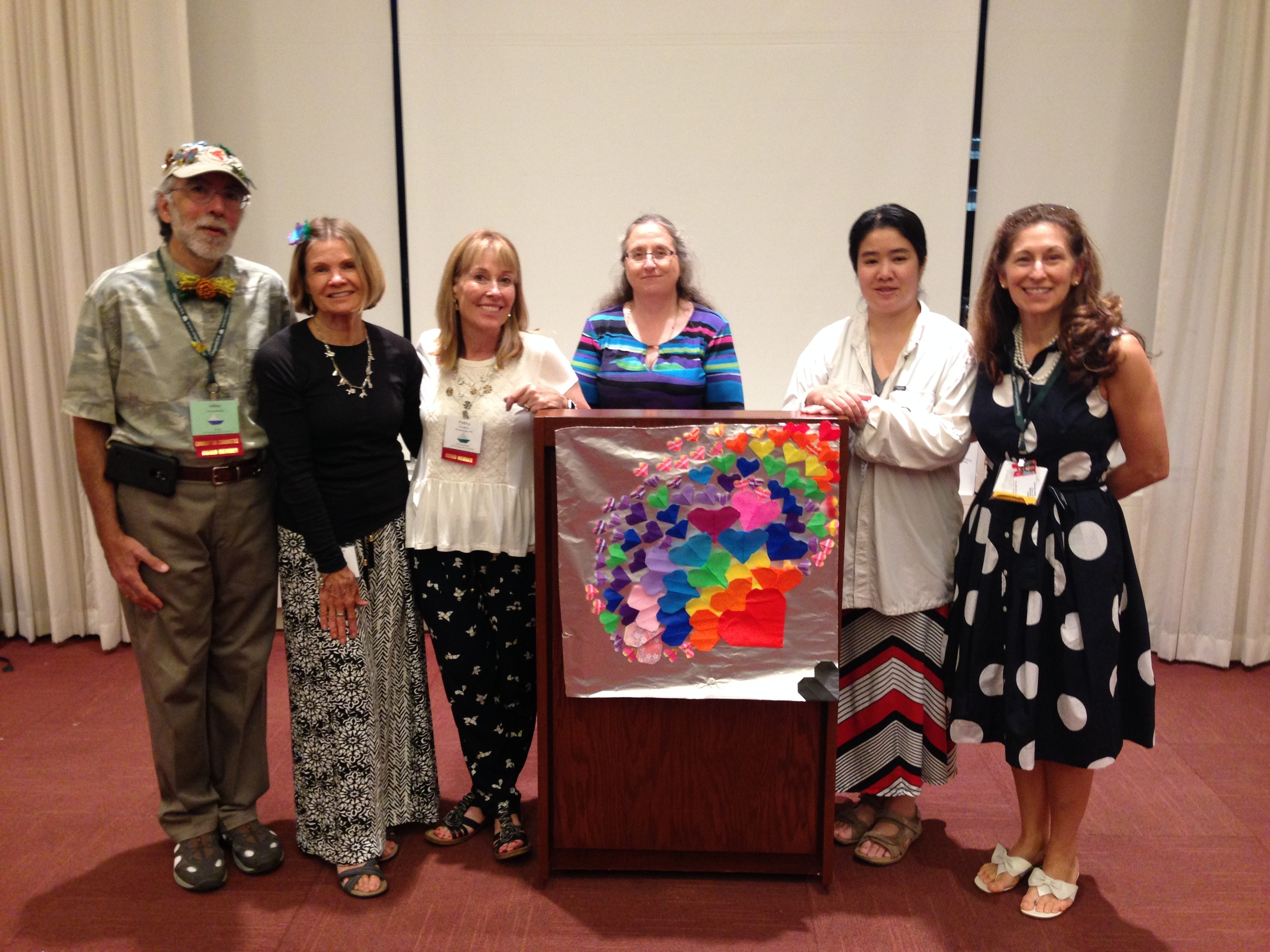 Origami USA Friends and Banner