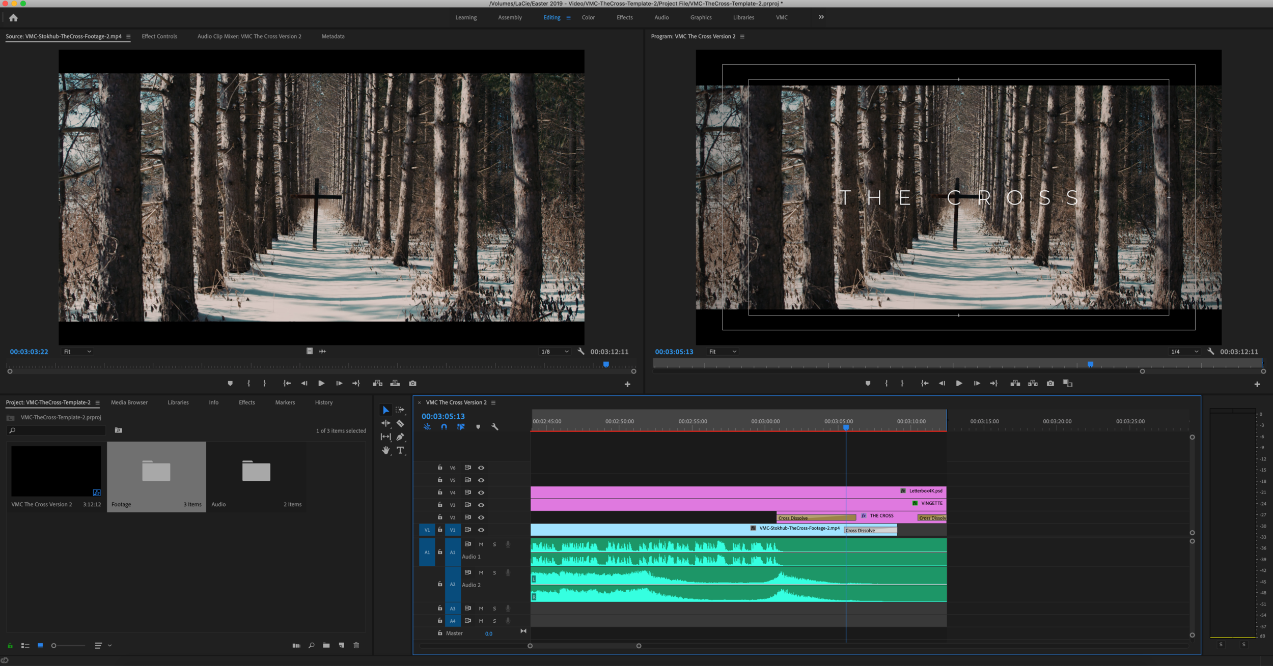 Full Premiere Template - Must be most current version of Adobe Premiere