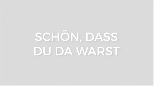 Schon, Dass Du Da Warst.png