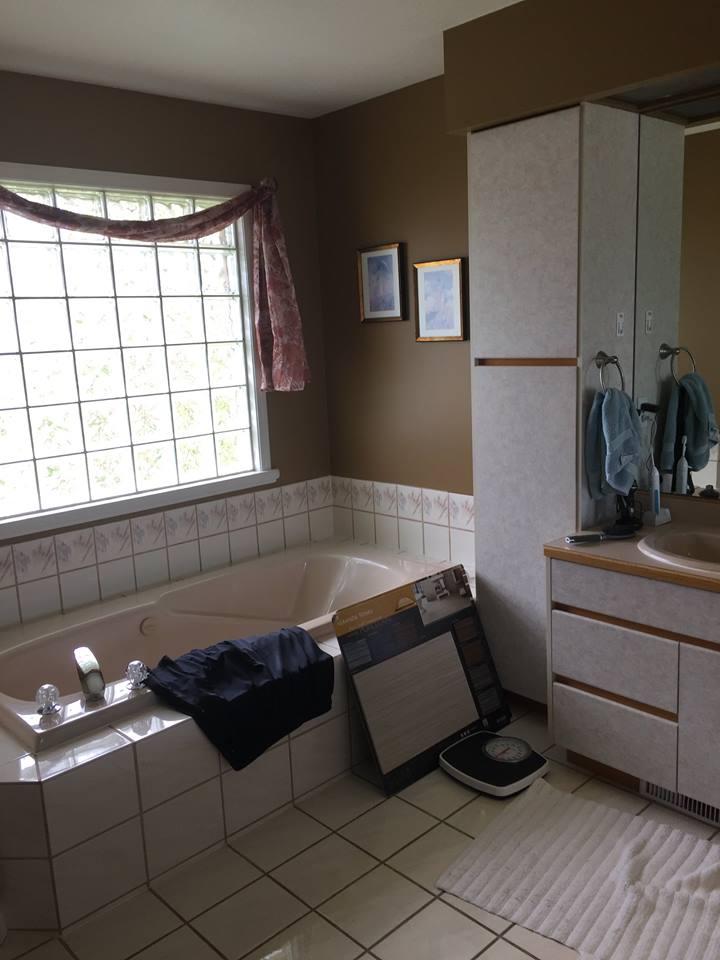 Master Bathroom Before Remodel