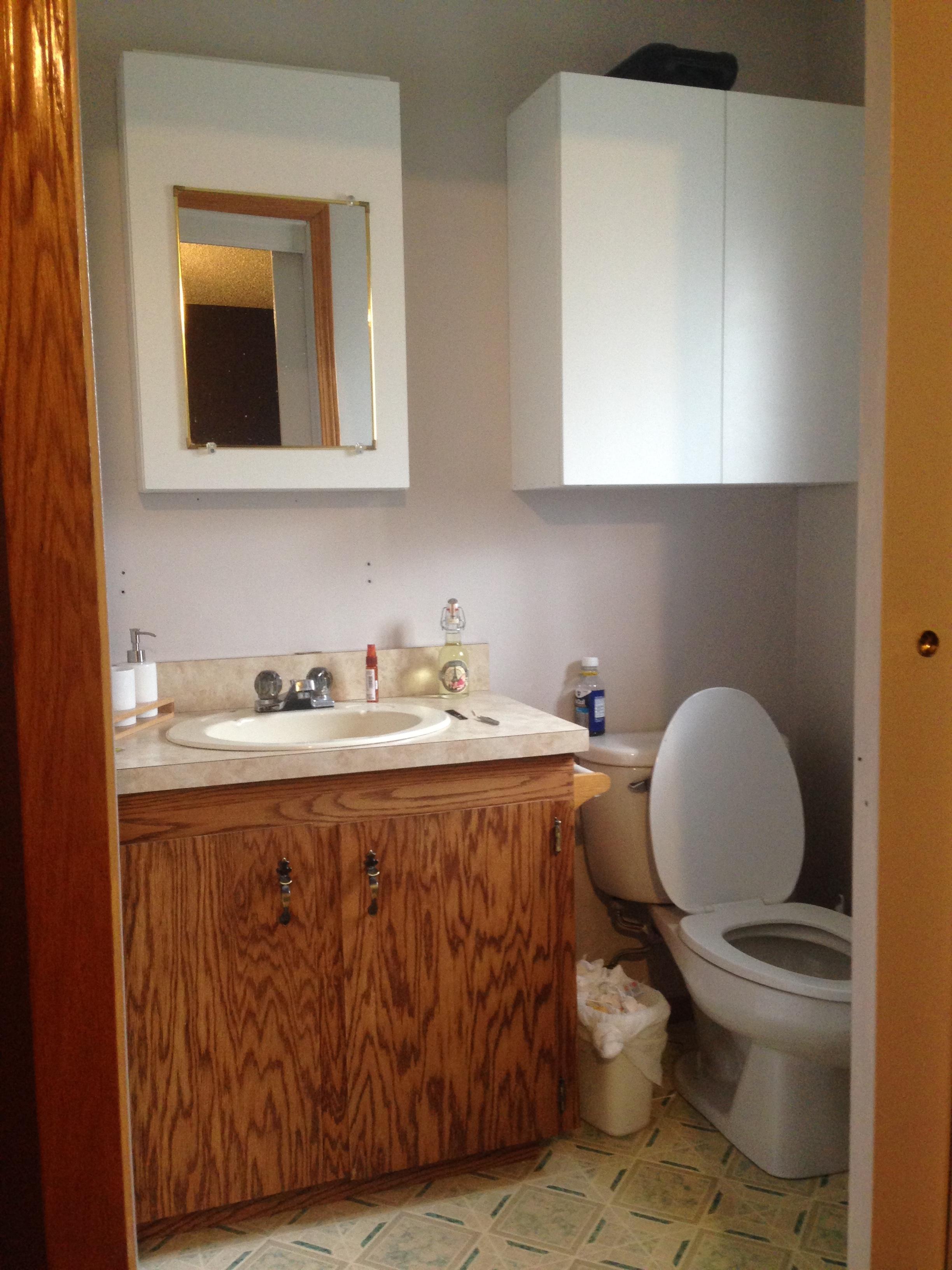 The Hideous Original Bathroom