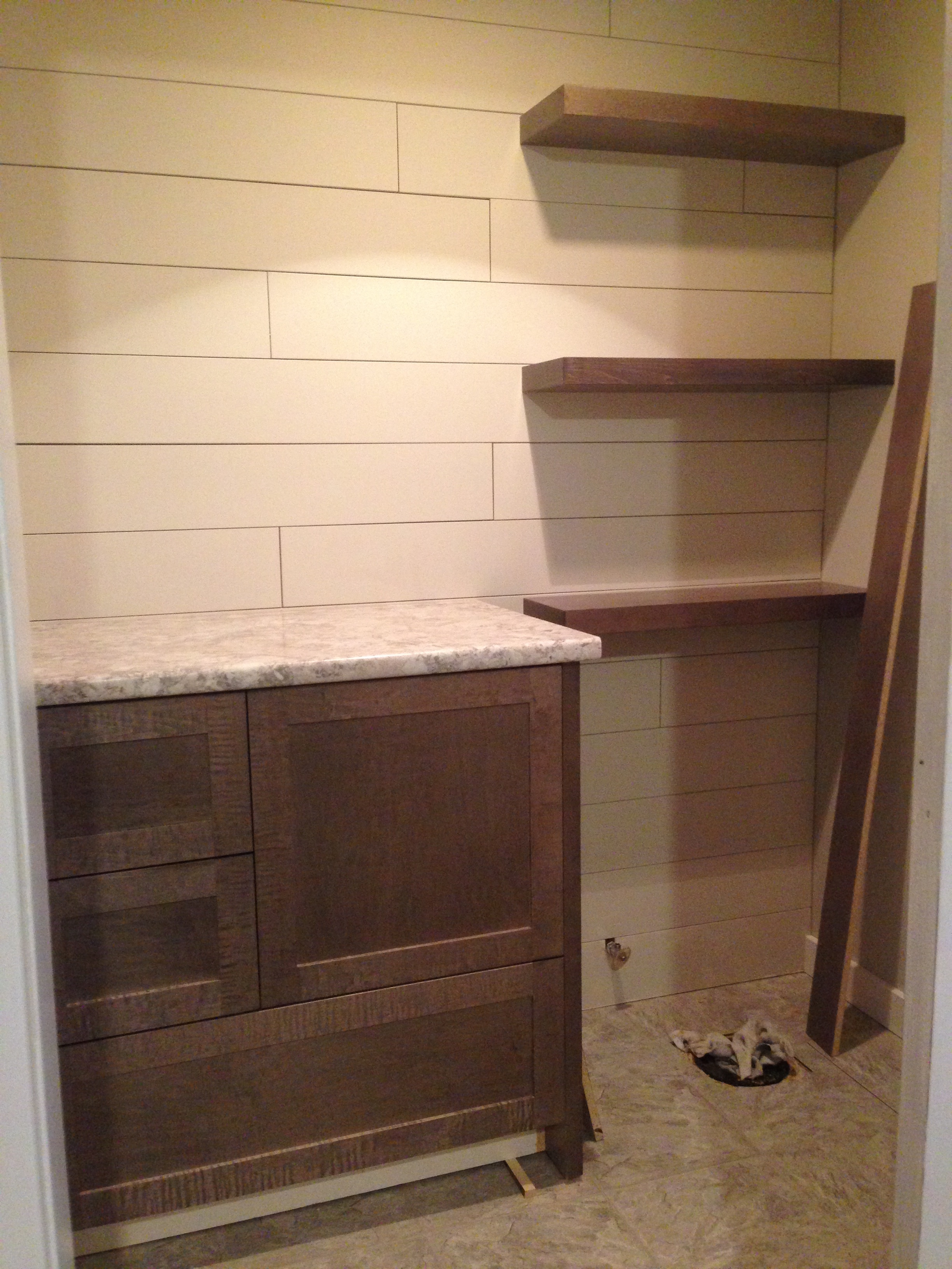 Cabinetry install almost complete.