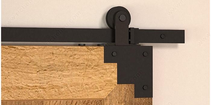 the classic barn door hardware