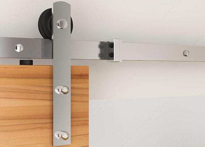 The Zenitude Barn Door Hardware