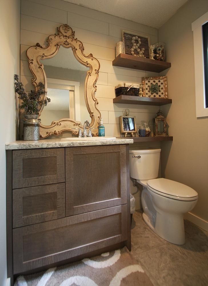 The complete bathroom transformation