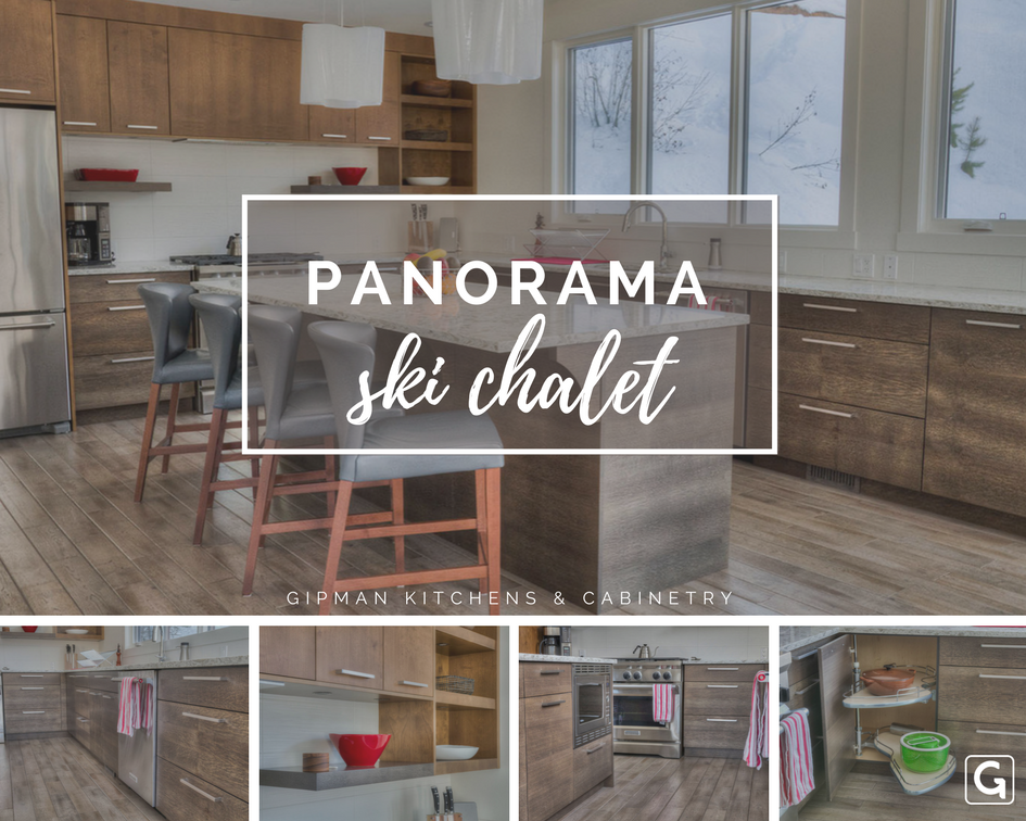 Panorama Ski Chalet Kitchen Cabinetry