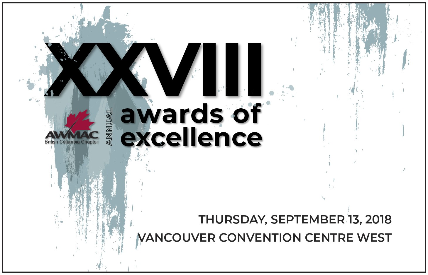 AWMAC 2018 Awards of Excellence