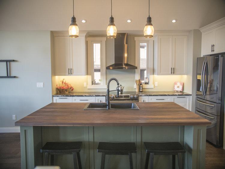 Southern Sage Ridge Custom Kitchen Cabinetry