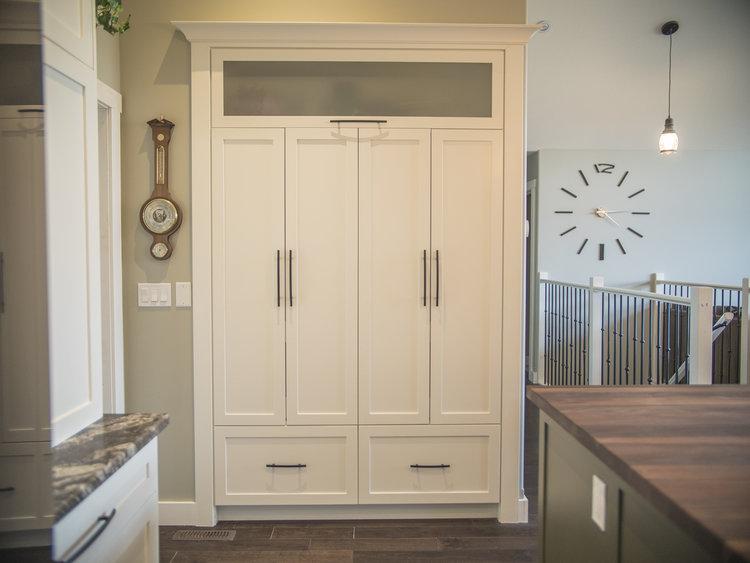 Custom built-in pantry
