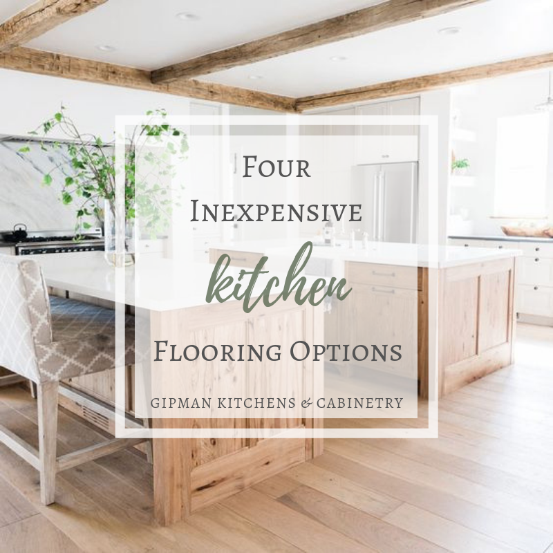 Four Inexpensive Kitchen Flooring Options