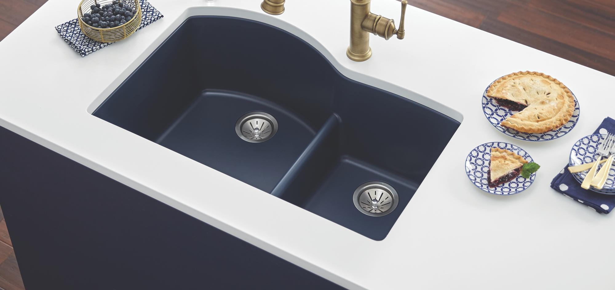For a higher resale value, choose an undermounted sink