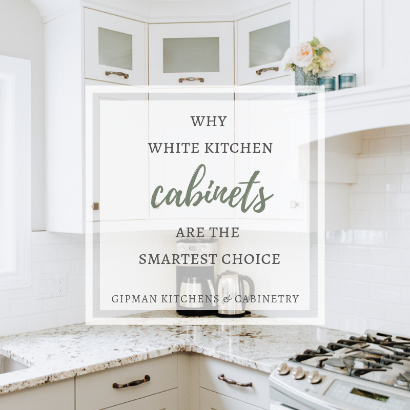 Why White Kitchen Cabinets are the Smartest Choice