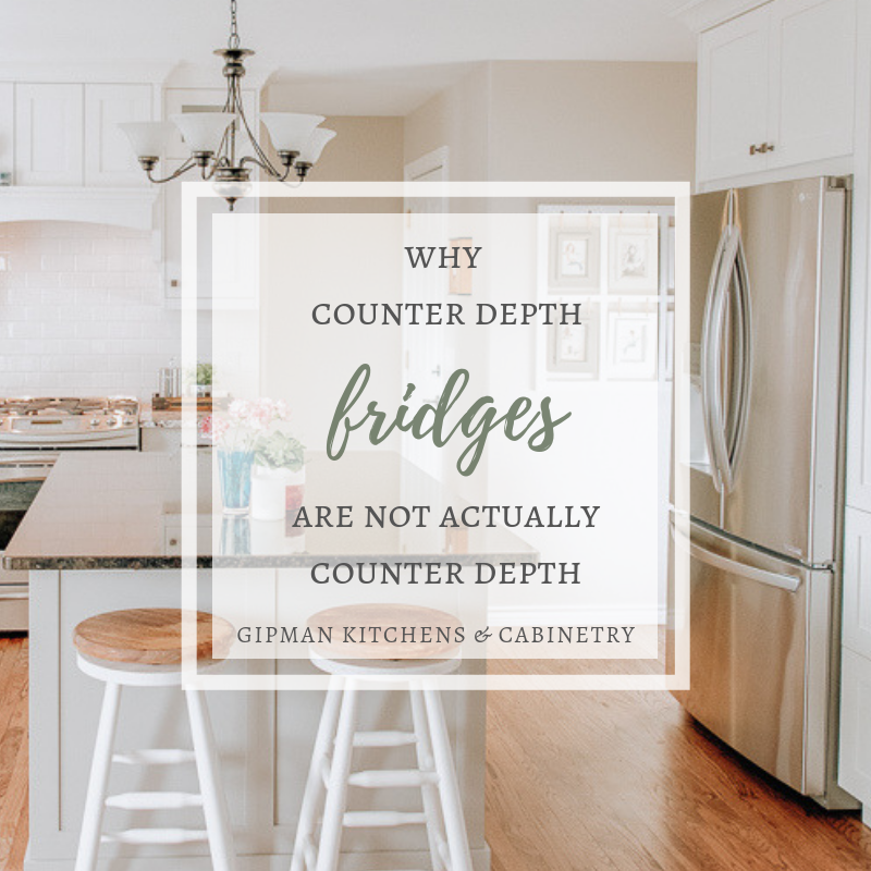 Why counter depth refrigerators are NOT actually counter depth