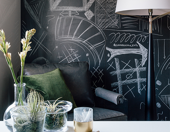 Chalkboard Writable Surfaces by Gipman Kitchens & Cabinetry
