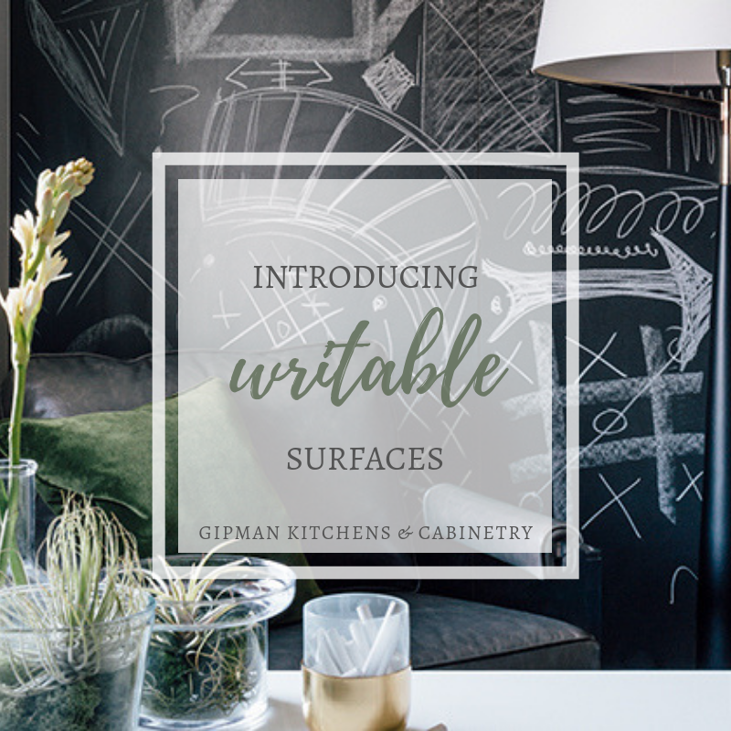 Writable Surfaces by Gipman Kitchens & Cabinetry