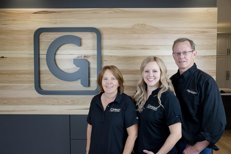 Garold Gipman and his family