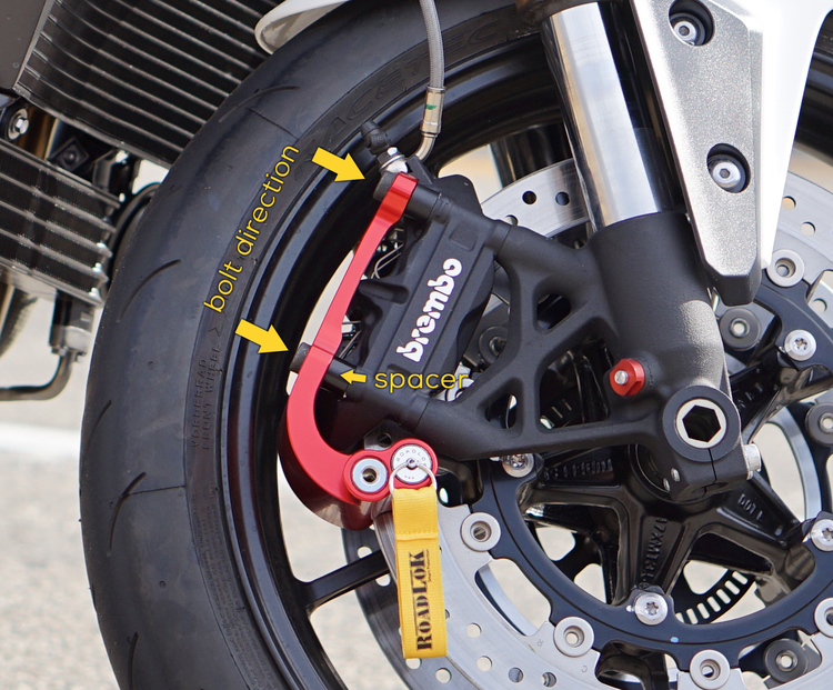 Dimensions disques roue avant pour antivol Xena Image-asset