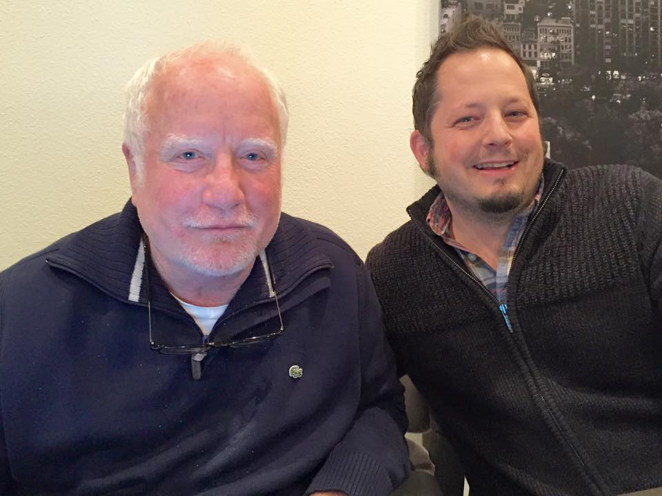 Working on a script with Richard Dreyfuss.